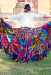 MULTI Tribal Bellydance ATS®Tribal Gypsy Rainbow Skirt