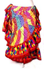 Brand New! DIVALI DIVA RAINBOW CARNIVAL GYPSY Skirt