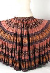 PEACH PARFAIT Tribal Bellydance Kuchi Gypsy ATS® Skirt