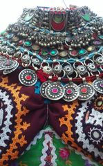 KUCHI RARE Vintage Tribal BellyDance Choker Necklace