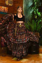 NEW!!ATS Valentino Durga Tribal Bellydance Tribal ATS Gypsy Skirts