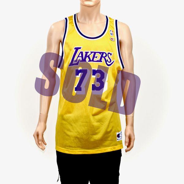 Dennis Rodman LA Lakers Champion Jersey 48 | Doctor Funk's Gallery ...