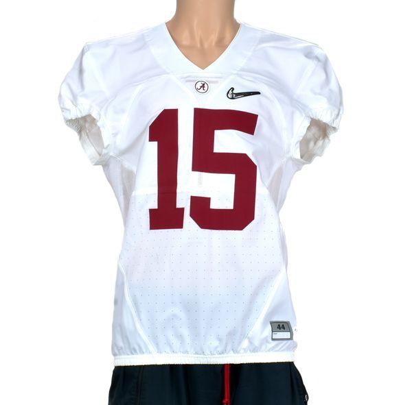 Nike Alabama Crimson Tide Authentic NCAA Championship Game Tagged Sample Jersey Diamond Swoosh