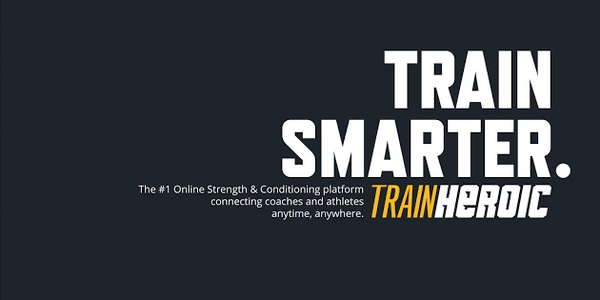 All our speed and strength athletes get access to their training programs via our app, TrainHeroic.