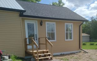 Addition with Horizontal Siding
