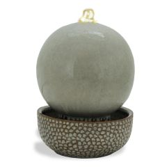 "11"" High X 8"" Diameter Sand Globe LED Fountain"