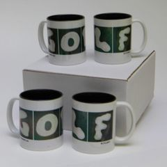4 Pack GOLF Mugs