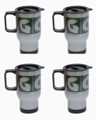 4 Pack GOLF Stainless Steel Travel Mugs