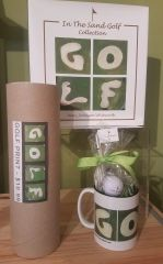 Golf Book GOLF Print GOLF Candy Mug