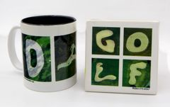 Dad Mug + GOLF Coaster