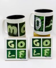 MOM & DAD Mug + 2 Coasters