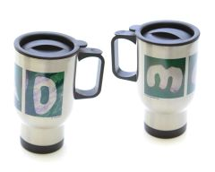 Mom/Dad Stainless Steel Travel Mugs