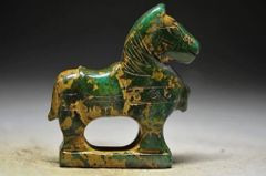 Carved Stone Horse - Chinese