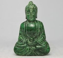 Carved Stone Buddha - Altar Sized