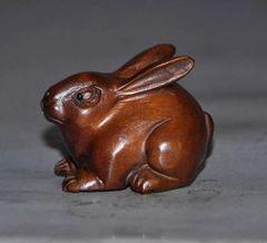 Netsuke: Brown Bunny