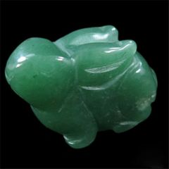 Carved Aventurine Rabbit