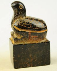 Carved Chinese Seal with Turtle Handle