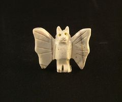 Carved Soapstone Bat
