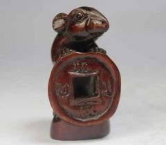 Netsuke: Money Rat