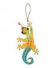 Gecko Ornament