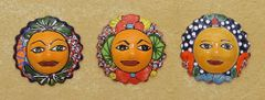 Talavera Mini Sun Face