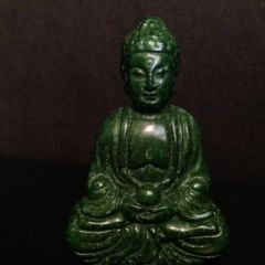Small Carved Stone Buddha Statue