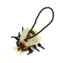 Beaded Ornament - Honey Bee!