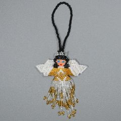 Beaded Angel Ornament