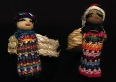 Napking Rings - Guatemalan Worry Dolls