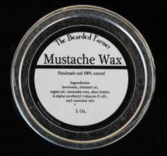 Pitchfork Mustache Wax