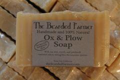 "Tea Tree, Myrrh, & Patchouli ""Ox & Plow"" Soap"