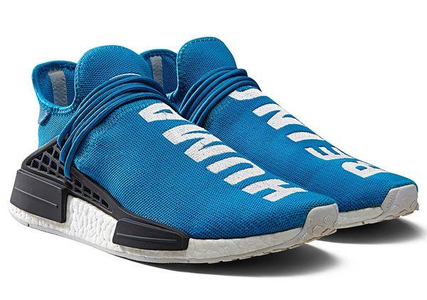 new styles c3ff4 39e1f Adidas Human Race NMD x Pharrell Williams (Blue)
