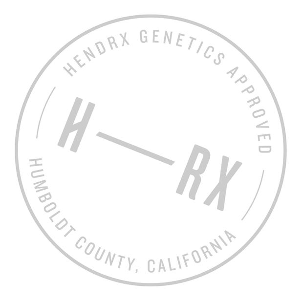 All our CBD hemp varietals carry the Hendrx genetics approved seal.