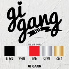 Gi Gang - STICKERS