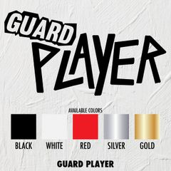 Guard Player - STICKERS