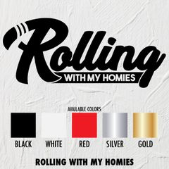 Rolling Homies - STICKERS