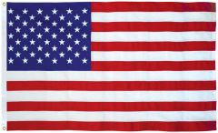 USA 3ft x 5ft Sewn Cotton Flags