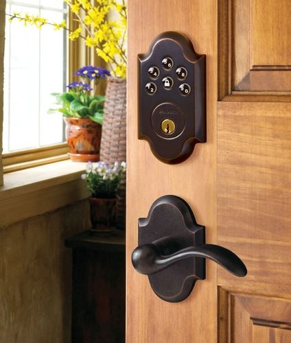 doorknob and deadbolt