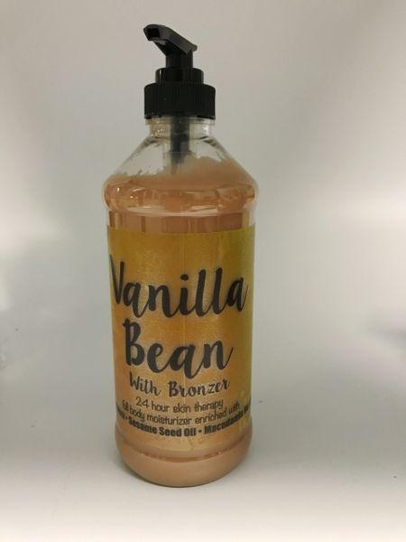 Vanilla Bean with Bronzer (16 oz)