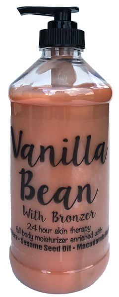 Vanilla Bean with Bronzer (16 oz)