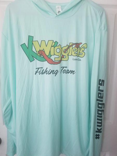 KWigglers Dry Fit LONG Sleeved Hoodie - 3 Colors