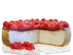 "Chocolate Cherry Cheesecake - 9"" Size (Serves 8-10)"