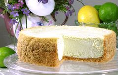 "Key Lime Cheesecake - 9"" Size (Serves 8-10)"