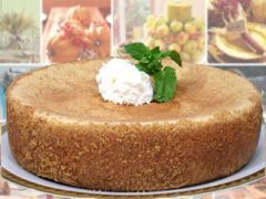 "Pumpkin Cheesecake - 9"" Size (Serves 8-10)"