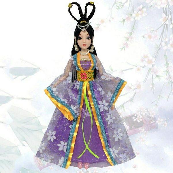 Barbie Gown Barbie Clothes Barbie Oriental Robe Barbie Dress 3