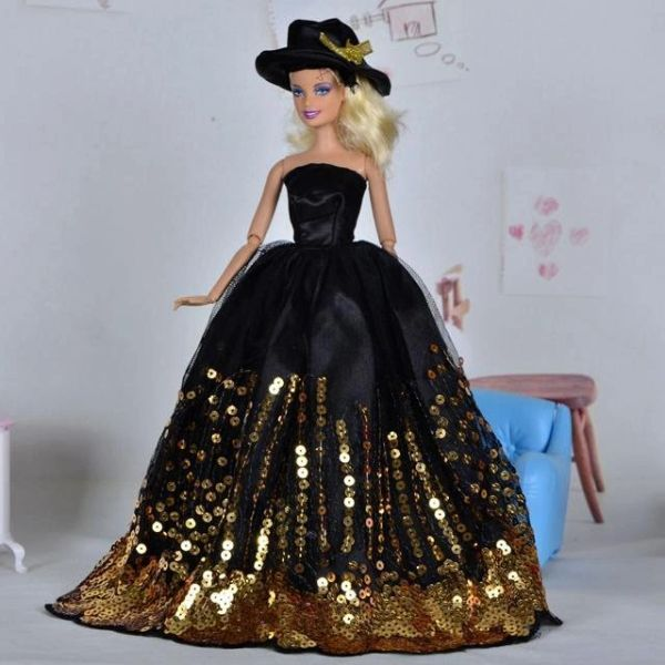 Barbie Ballgown Satin Hat Barbie Shoes