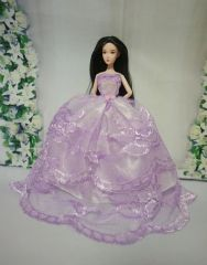 Barbie Ballgown-Modest Barbie Clothes-Barbie Shoes