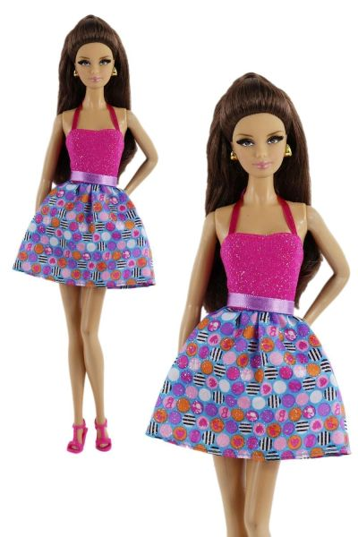 Modest Barbie Clothes-Barbie Dress-Barbie Shoes