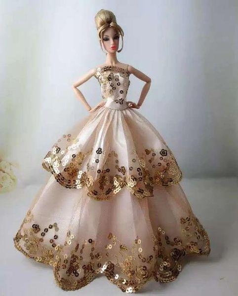 Barbie Gown, Modest Barbie Clothes, Purse-Barbie Shoes-Necklace-Bracelet-Earrings Set