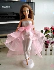 Barbie Gown-Modest Barbie Clothes-Barbie Shoes